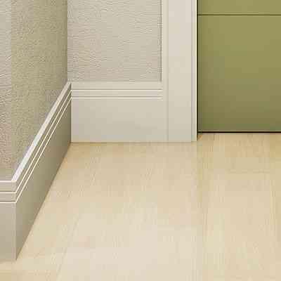 Ao seguir a mesma cor da parede, material confere uniformidade ao ambiente  - Eucatex/Divulgação