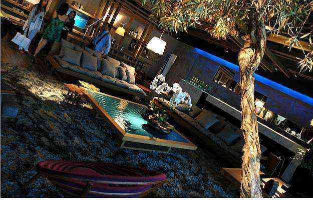 Lounge Clube A, de Ana Paula Rohlfs, dedicado ao Clube de Assinantes do Estado de Minas - Thiago Ventura/Portal Uai/D.A Press