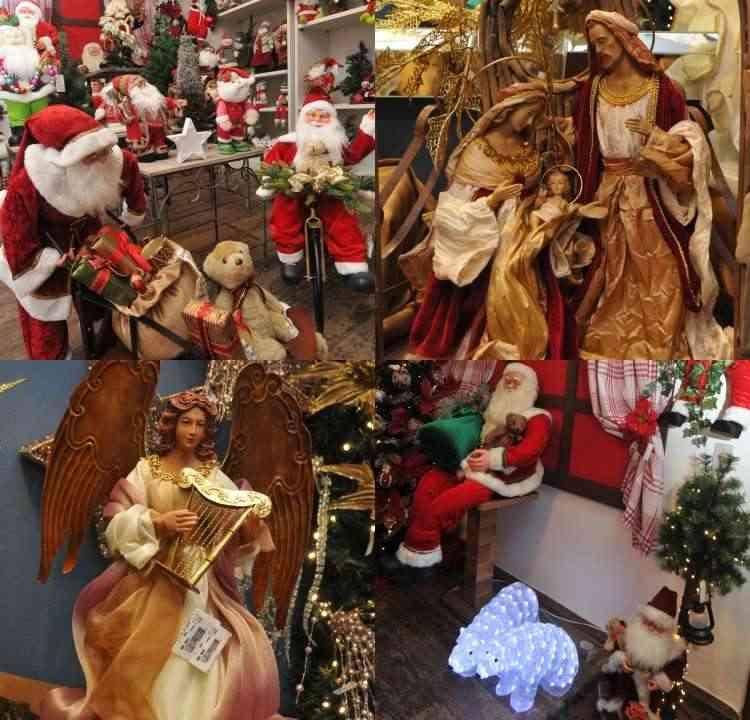 A figura do Papai Noel é obrigatória na decoração - Jair Amaral/EM/D.A Press