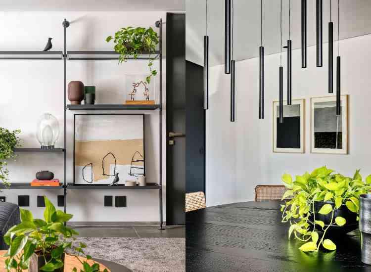 O aroma pode ser trabalhado por meio das plantas. Na foto, projeto de apartamento do arquiteto Junior Piacesi - Gustavo Xavier/Divulgação