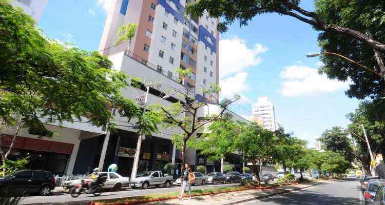 O bairro é considerado tranquilo e tem ruas arborizadas - Euler Junior/EM/D.A Press