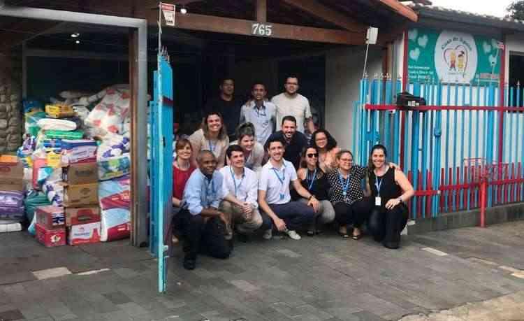 O grupo Patrimar também estimula a participação de seus colaboradores em trabalhos voluntários e com doações por meio do projeto Construindo o Bem - Patrimar/Divulgação