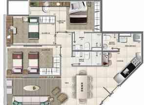 Apartamento, 3 Quartos, 2 Vagas, 1 Suite em Sqnw 107, Noroeste, Brasília/Plano Piloto, DF valor de R$ 1.050.000,00 no Lugar Certo