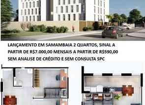 Apartamento, 2 Quartos, 1 Vaga em Qn 429, Samambaia Sul, Samambaia, DF valor de R$ 164.500,00 no Lugar Certo