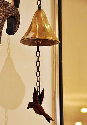 Luciana Andrade adicionou ao projeto este belo detalhe que remete às aves - Eduardo de Almeida/RA Studio