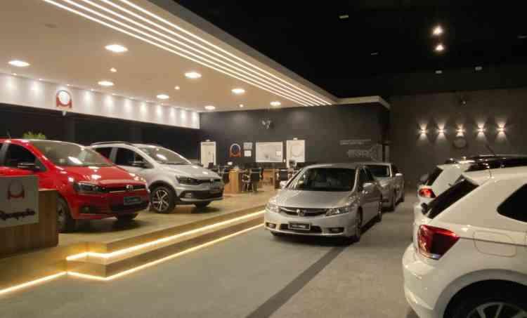 Salão de vendas: sofisticação em 290 metros quadrados - Divulgação