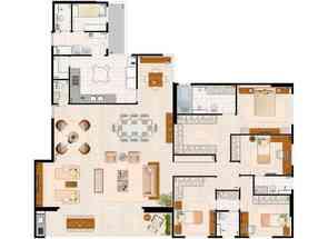 Apartamento, 4 Quartos, 3 Vagas, 4 Suites em Av. das Araucárias, Águas Claras, Águas Claras, DF valor de R$ 1.370.000,00 no Lugar Certo