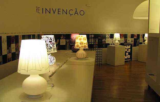 Exposição Reinvenção, na Abatjour de Arte - Joana Gontijo/Portal Uai/D.A Press