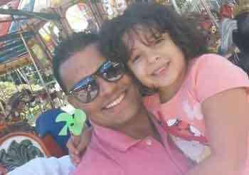 Passar mais tempo de qualidade com a filha foi um dos fatores que levou Fernando a optar pelo condomínio - Arquivo Pessoal