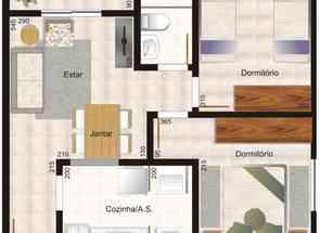 Apartamento, 2 Quartos, 1 Vaga em Santa Clara a, Vespasiano, MG valor de R$ 220.000,00 no Lugar Certo