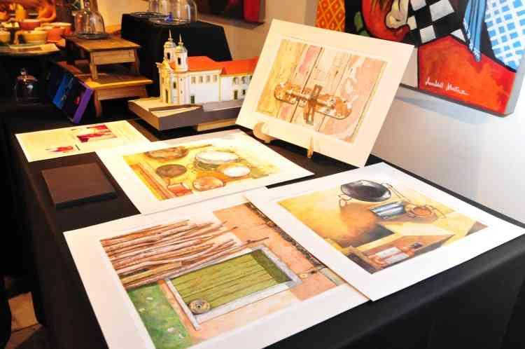 Ilustrações com cenas de Minas Gerais - Gladyston Rodrigues/EM/D.A Press