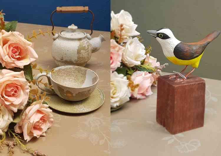 No cardápio, trabalhos de floristas e designers com objetos lúdicos, fora do lugar-comum - Carlos Altman/EM/D.A Press