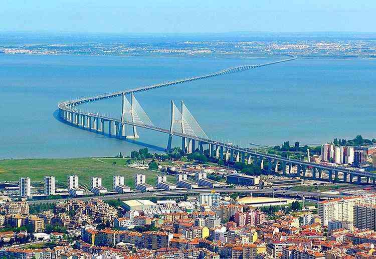 Ponte Vasco da Gama, em Lisboa, Portugal - Reprodução/Internet