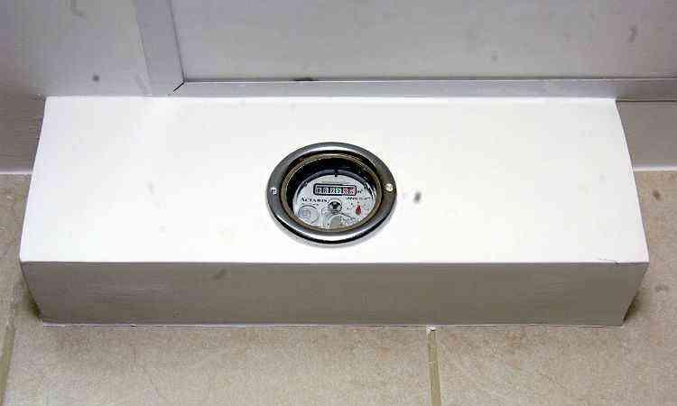 Medidor individualizado permite ao morador acompanhar consumo - Maria Tereza Correa/Em/D.A Press-23/1/12