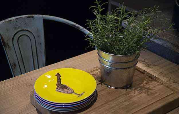 A proposta de Manuela, Bruna e Marcela é uma ambientação criativa para quem faz da gastronomia uma diversão - Thiago Ventura/EM/D.A Press