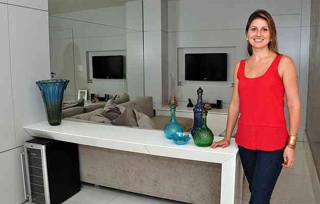 Para a arquiteta Isabela Dinelli, planejar evita comprar produtos desnecessários - Eduardo Almeida/RA Studio