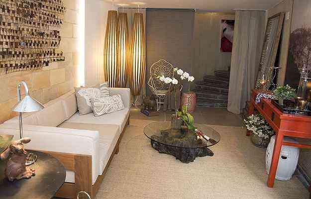 O Lounge do Conforto é o espaço ideal para curtir um bate papo no fim de tarde - Thiago Ventura/EM/D.A Press