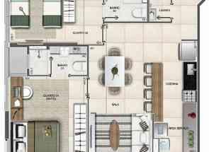 Apartamento, 2 Quartos, 1 Vaga, 2 Suites em Sqnw 107, Noroeste, Brasília/Plano Piloto, DF valor de R$ 810.000,00 no Lugar Certo