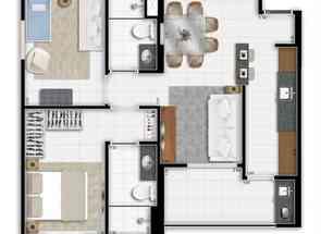Apartamento, 2 Quartos, 1 Vaga, 1 Suite em Quadra Csg 3, Taguatinga Sul, Taguatinga, DF valor de R$ 415.000,00 no Lugar Certo