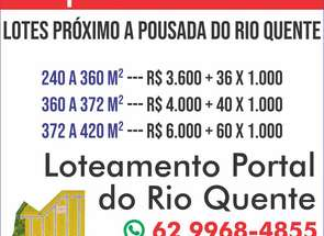 Lote em Esplanada, Rio Quente, GO valor de R$ 4.000,00 no Lugar Certo