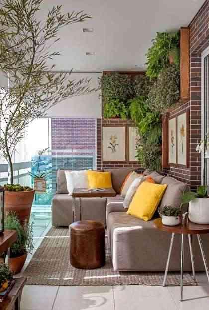 Espaço arejado e com boa luminosidade é imprescindível ao cultivo de um jardim vertical - Cecilia Dale/Divulgação