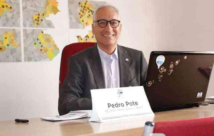 Pedro Pote, diretor da máster franqueadora RE/MAX MG, diz que o sucesso da franquia se deve à sua diferente forma de gestão  - Giovana Louise/Divulgação