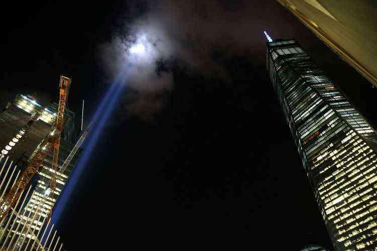 Novo World Trade Center, em Nova York, nos EUA - Spencer Platt/AFP
