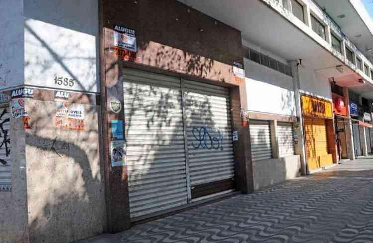 Ligeiro aquecimento na locação foi observado nos últimos dois meses - Cristina Horta/EM/D.A Press