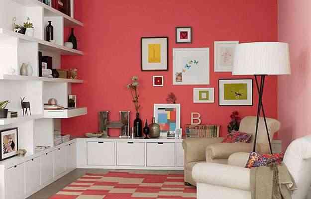 Sala: a cor chá dançante é a aposta para 2012 da Coral - Coral/Divulgação