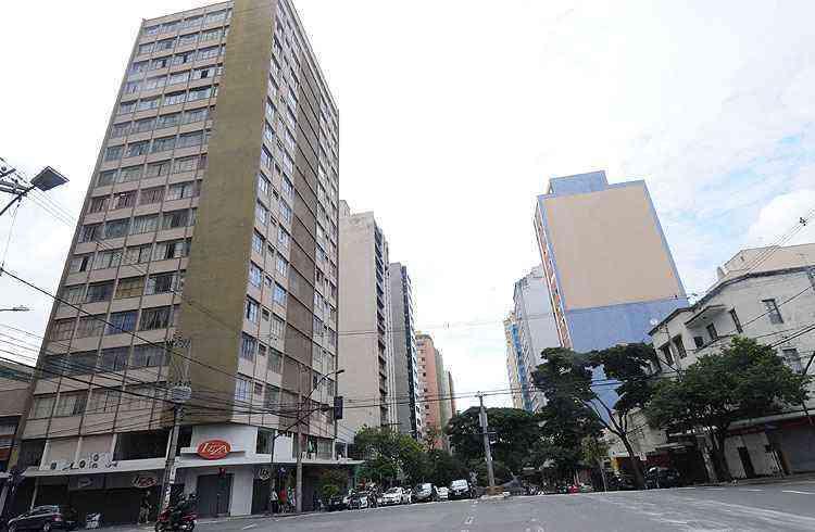 O bairro tem importantes corredores de tráfego que acessam outras regiões da cidade - Cristina Horta/EM/D.A Press