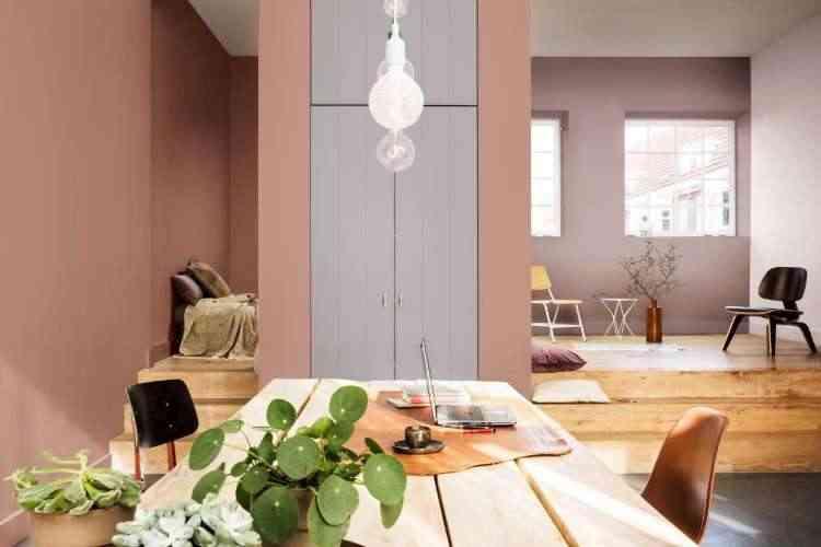 A cor do ano para a Coral é a adorno rupestre, que pela suavidade cabe em qualquer ambiente da casa, da cozinha ao quarto  - Coral/Divulgação
