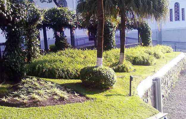 Projetos para áreas de lazer, caminhos e até igrejas, como a de Santa Efigênia, ganham espaço em áreas livres de Belo Horizonte   - Paula Márcia Mariélia/Divulgação