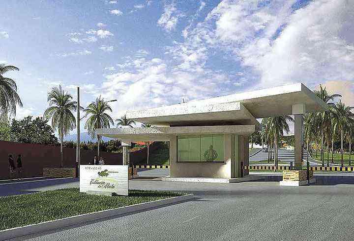 Condomínio Estância da Mata, empreendimento da C.A.S em Matozinhos, ocupa área de 353 mil m², dos quais 80 mil m² são de área verde preservada - C.A.S/Divulgação