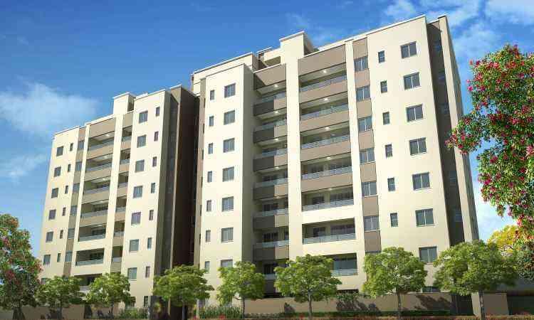 Supremo Residence está sendo erguido em duas torres no terreno do antigo Clube do América - Direcional Engenharia/Divulgação