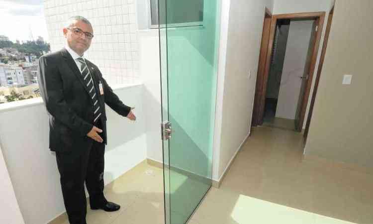 José De Filippo Neto, diretor da rede Netimóveis: carteira de imobiliárias associadas cresceu 21% - Ramon Lisboa/EM/D.A Press