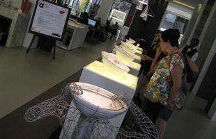 Circuito DMAIS movimenta BH e inspira a pensar e conhecer o design. Na foto, Exposição de Cubas, na Bel Lar Exclusive