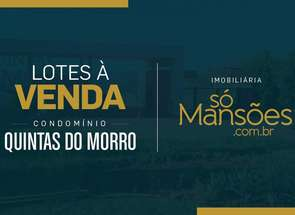 Lote em Condomínio em Rua Mantiqueira, Condomínio Quintas do Morro, Nova Lima, MG valor de R$ 1.056.587,00 no Lugar Certo