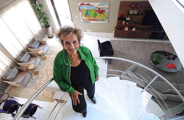 Maria Inêz Coutinho, designer de interiores - Leandro Couri/EM/D.A Press