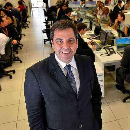 Alexandre Gribel, da Morus Imóveis, diz que o objetivo é quadruplicar as vendas no ano que vem - Pedro Vilela/Divulgação