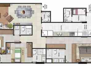 Apartamento, 3 Quartos, 3 Vagas, 3 Suites em Sqnw 107 Bloco I, Noroeste, Brasília/Plano Piloto, DF valor de R$ 1.390.000,00 no Lugar Certo