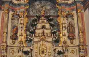 Retábulo-mor da Igreja Matriz de São José, em Nova Era
