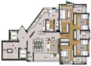 Apartamento, 4 Quartos, 3 Vagas, 2 Suites em Santo Agostinho, Belo Horizonte, MG valor de R$ 1.835.000,00 no Lugar Certo
