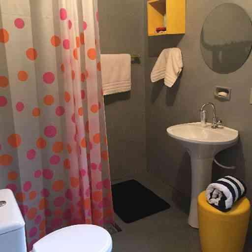 Pequenos detalhes e objetos coloridos mudam completamente o visual do banheiro - ARQUIVO PESSOAL