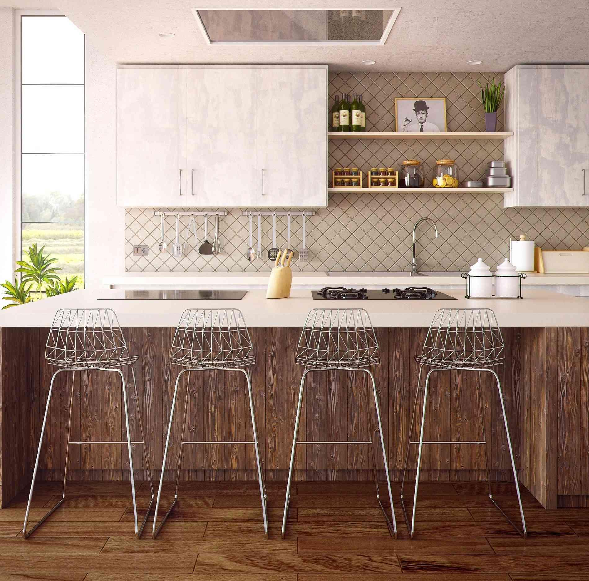Modelo de cozinha integrada - Pixabay