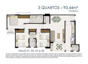 Apartamento, 3 Quartos, 2 Vagas, 2 Suites em Rua 36 Sul, Sul, Águas Claras, DF valor de R$ 650.000,00 no Lugar Certo