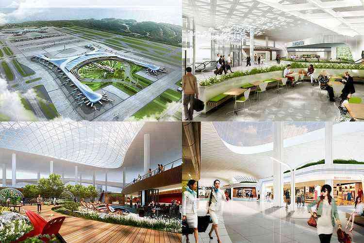 Aeroporto de Incheon, Coreia do Sul - Gensler/Divulgação