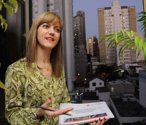 Assessora econômica do Sinduscon-MG, Ieda Vasconcelos diz que o número de lançamentos ao longo do ano foi pouco expressivo - Marcos Vieira/EM/D.A Press