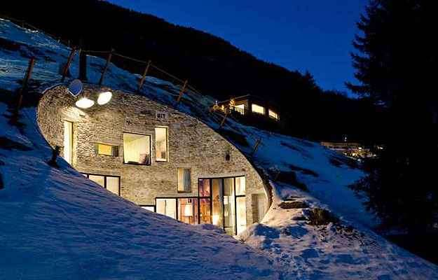 Casa Villa-Vals, na Suíça - Search and CMA/Divulgação