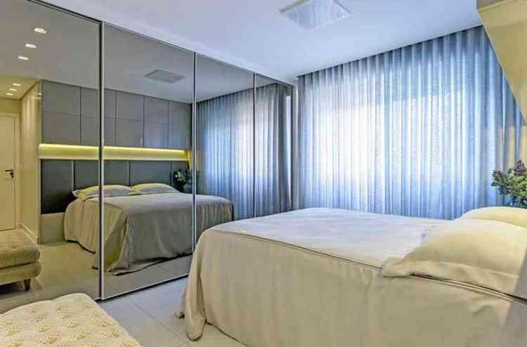 Objeto de decoração pode ser usado em todos os ambientes da casa, mas no quarto é preciso um certo cuidado para evitar incômodo aos usuários - Osvaldo Castro/Divulgação