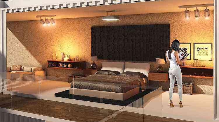 Arquitetos e decoradores criaram ambientes exclusivos para a mostra de decoração - Construir Casa Design/Divulgação
